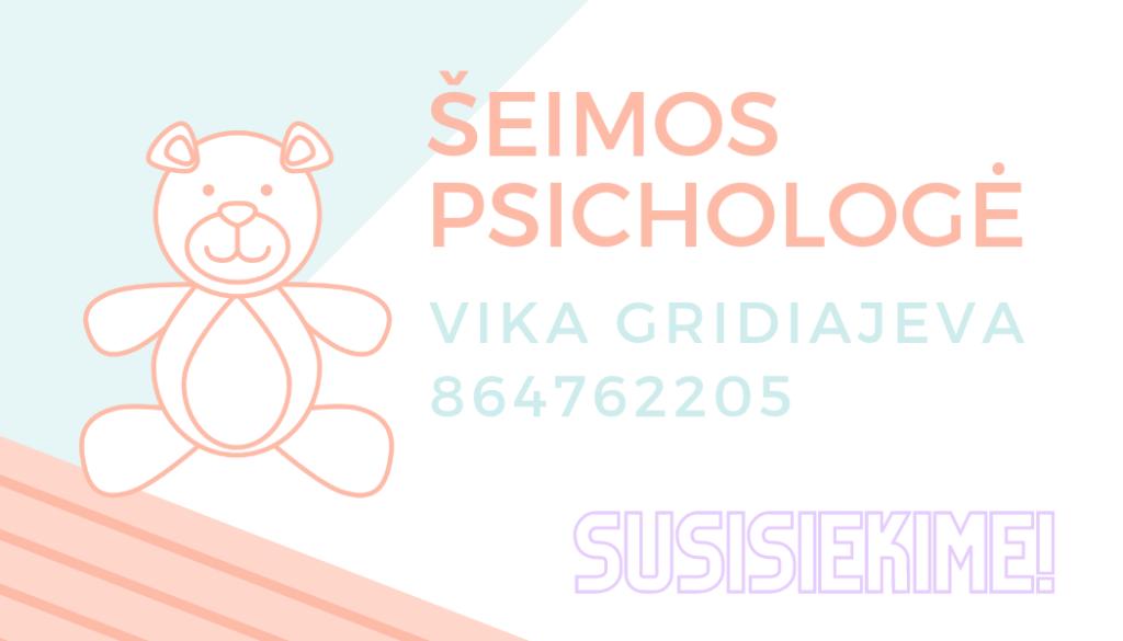 Šeimos psichologė